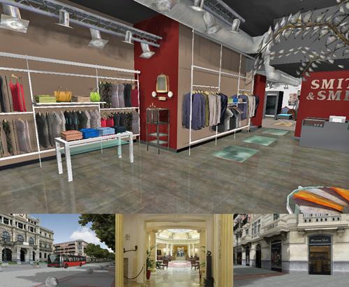 """Aplicaciones e - shopping 3D - La siguiente generación de comercio electrónico"""""""