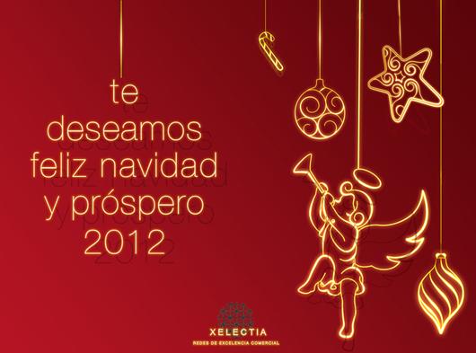 Desde Xelectia te deseamos Feliz Navidad y un próspero año 2012