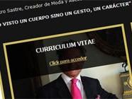 Diseño web Sastrería Javier De Juana