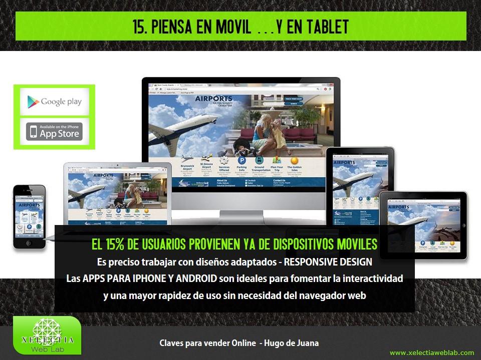 Clave 15 - Piensa en móvil... y en tablet