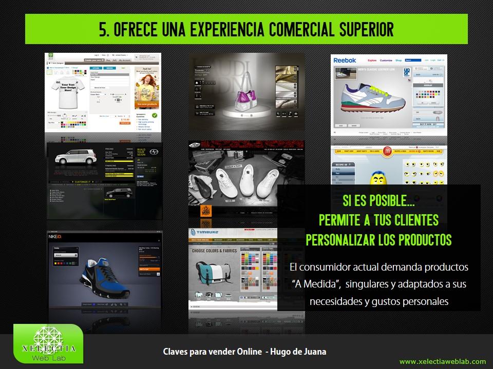 Clave 5 - Ofrece una Experiencia Comercial Superior