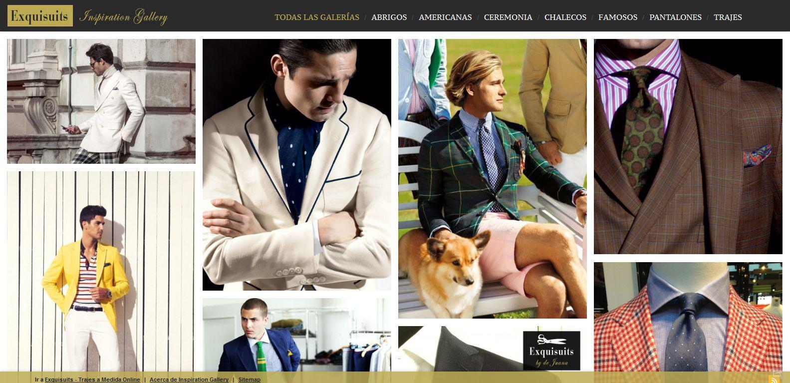 Galerías de Inspiración de Trajes, Americanas, tendencias moda masculina 2013