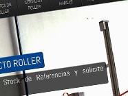 Diseño web de Roller Industrial