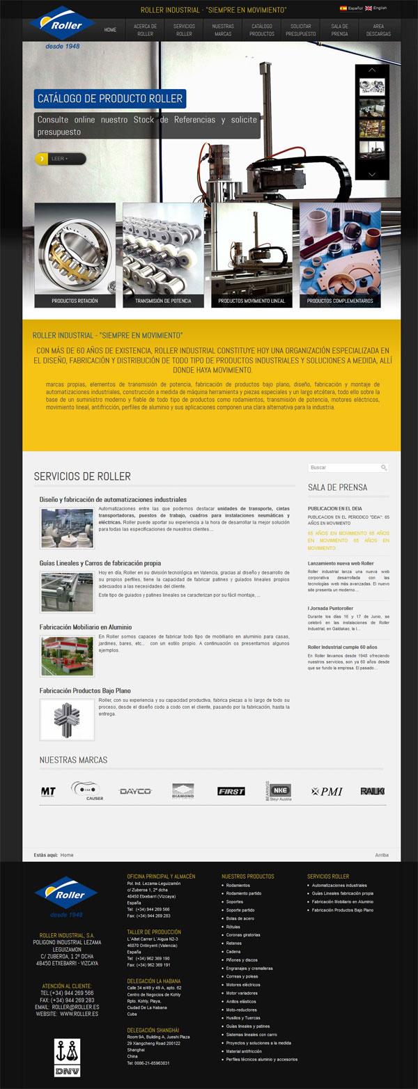 RollerIndustrial_homepage