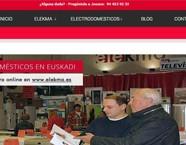 Diseño web de Elekma – Electrodomesticos baratos en Euskadi
